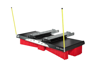 Telehandler broom